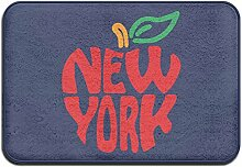 SUNG HEE New York rot Apple NYC Logo Schöne Mats