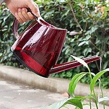 sungmor 1.4L Colorful Transparent Gießkanne, Garten-tragbar Bewässerung Topf, 32.5x 11x 16,5cm