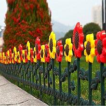 Sungmor, Garten- / Lattenzaun, Design: Tulpen und