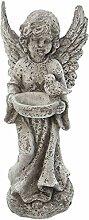 Sungmor Vintage Shabby Stil Engel Figur