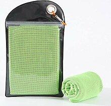 SUNHAO Eissporttuch, schnell trocknendes Handtuch,