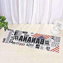 SUNHAO Kaltes Handtuch, bedrucktes Handtuch,
