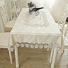 SUNHAO Tischdecke Spitze Seite Home Dining