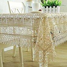 SUNHAO Tischdecke, wasserlösliche nachttischdecke