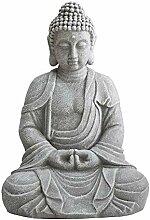 Sunjoy D101012900 Rowan Grey Buddha Gartendeko