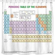 Sunlit Design Periodensystem Duschvorhang Elemente
