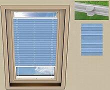 SUNLUX24 Plissee Basic Dachfenster für VELUX GTL