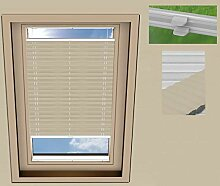 SUNLUX24 Plissee Cosimo Dachfenster Verdunkelung