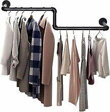SUNMALL Industrieller Rohr-Kleiderständer,