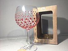 Sunny By Sue Großes Gin&Tonic-Glas, handverziert