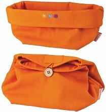 Sunny Day Textil Brotkorb/Brottasche Orange