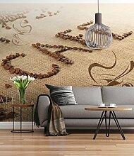 Sunny Decor - Fototapete CAFE - 254 x 184 cm -
