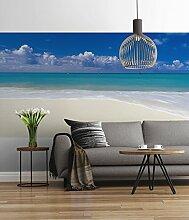 Sunny Decor - Fototapete DESERTED BEACH - 368 x