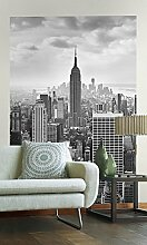Sunny Decor - Vlies Fototapete NYC BLACK AND WHITE