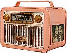 Sunny Lingt Vintage Radio-Modell Tissue Box Cover