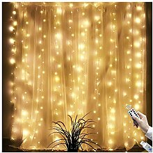 Sunny seat USB 300 LED Vorhang Lichter Fairy