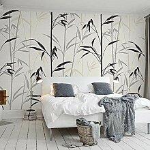 SUNNYBZ 3D Wandbild Moderne Tapete Einfach Bambus.