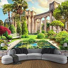 SUNNYBZ Wandgemälde Wohnzimmer Grün Pflanze