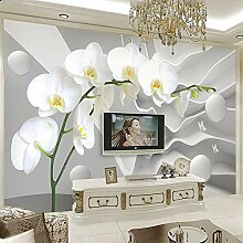 SUNNYBZ Xxl Wandtattoo Einfachheit Weiß Blumen
