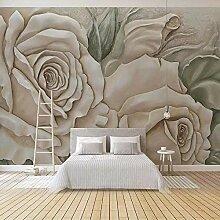 SUNNYBZ Xxl Wandtattoo Weiß Pflanzen Blumen
