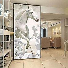 SUNNYBZ Xxl Wandtattoo Weiß Tier Pferd 260X175 Cm