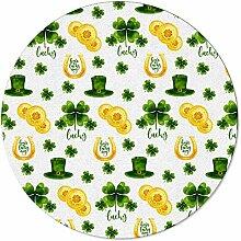 SunnyM St Patrick runder Teppich mit