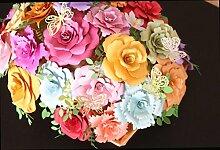 sunnymi DIY Stanzmaschine DANKE Blumenstrauß