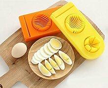 sunnymi Multifunktions-Eierschneider-Schneidmesser/Creative 2 in1 Cut Küchenformwerkzeuge/Lebensmittelsicheres Material