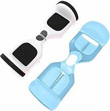 sunnymi Smart Balancing Scooter Schutzhülle Hoverboard Balance Auto Reißverschluss tragbare ,Silikon Tasche für 6,5 Zoll 2 Räder (KAUTSCHUK, Blau)