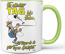 Sunnywall Angler Angel Fischer Premium Geschenk