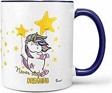 Sunnywall Auswahl Tasse Einhorn Unicorn Mug Spruch