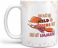 Sunnywall Fuchs Tassen-Auswahl Kaffeebecher