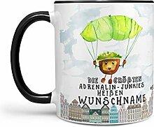 Sunnywall Kastanie-Tasse Kaffeebecher Wunsch-Tasse