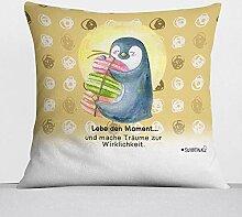 Sunnywall Kissen-Pinguin Sloth Kuschelkissen