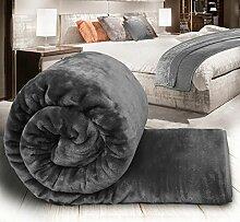 Sunrise Bedding Fleece-Decke für Bett oder Couch