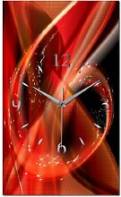 Sunset Designer Funk Wanduhr Funkuhr modernes Design * Made in Germany* WA120F