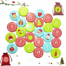 Sunshine smile 24 Adventskalender Zahlen,Nummern