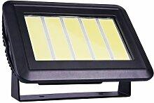 Sunsolar LED-Leuchtmittel, 45 Watt LED Fluter, Schwarz