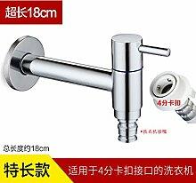 SunSuihelle China Sanitär, erweiterte Badewanne Mop, Waschmaschine, spritzwassergeschützt, Erkältung Wasseranschluß, Super lange Waschmaschine Schnittstelle (roter Griff)