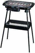 SUNTEC elektrischer Standgrill BBQ-9158 [Für Innen & Außen geeignet, auch als Tischgrill verwendbar, regelbarer Thermostat, max. 2000 Watt]