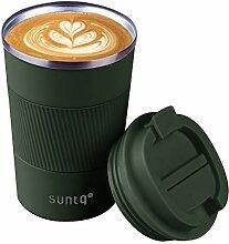 SUNTQ Wiederverwendbare Kaffeebecher Reise Kaffee