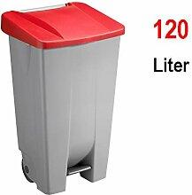 Sunware Basic Abfalleimer 120 Liter - 42,5 x 51 x