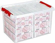 Sunware Q-Line Weihnachtskugeln Box mit Tabletts