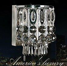 SUNWeiß Moderne Wandlampen mit Crystal Funktion