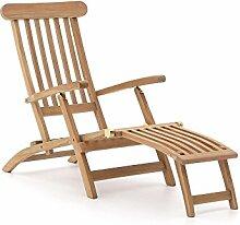 Sunyard Country Deckchair Teakholz Gartenliege