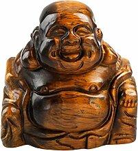 sunyik handgeschnitzt Stein Happy Buddha Statue,