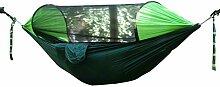 SUP-MANg Camping Hängematte Mit Moskitonetz,