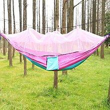 SUP-MANg Camping-Hängematte mit Moskitonetz,