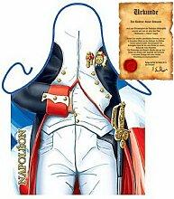 super bedruckte Grill und Kochschürze: Napoleon mit einer GRATIS Urkunde Einheitsgröße