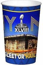 Super Bowl XLVlll Kunststoffbecher, 625 ml